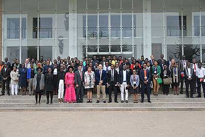 Group Photo with the participants of the conference, photo: Strathmore University