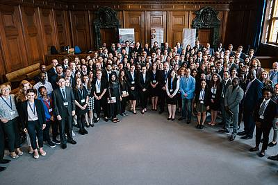The participants of the Nuremberg Moot Court 2017