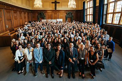 The participants of the Nuremberg Moot Court 2019