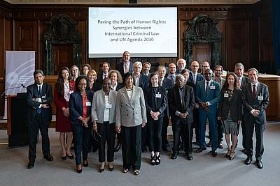 "The participants of the Conference ""Paving the Path of Human Rights – Synergies between International Criminal Law and UN Agenda 2030"""