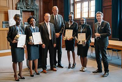 Strathmore University, winner of the Nuremberg Moot Court 2017