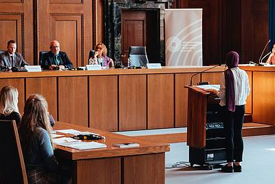 Nuremberg Moot Court 2019 in Courtroom 600