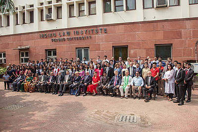 More than 120 persons participated in the conference, which was held at the Indian Law Institute, the leading legal research institute in India.