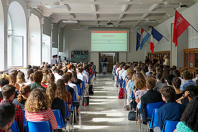 Official opening of the new academic year at the Sciences Po Paris campus in Nancy - photo: Sébastien Muñoz - Sciences Po