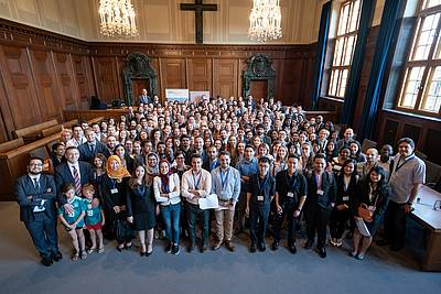 The participants of the Nuremberg Moot Court 2018