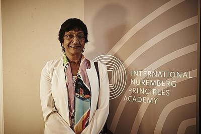 Dr. Navi Pillay, President of the Advisory Council